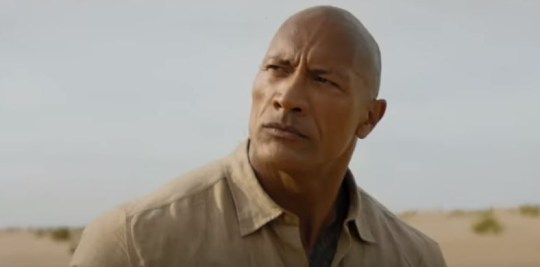 Dwayne Johnson in Jumanji