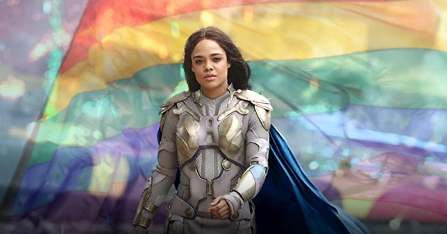 Tessa Thompson has shared news that Marvel's Valkryie is bisexual