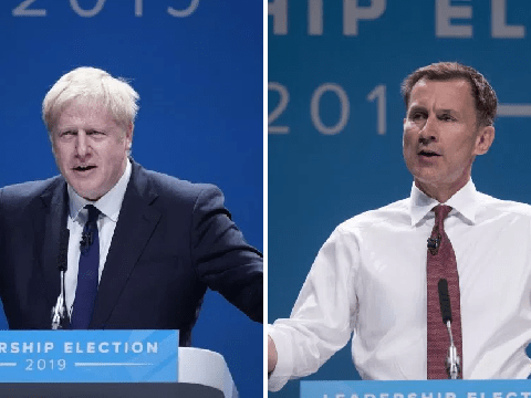 What are hustings and where will they take place for the Tory leadership election?