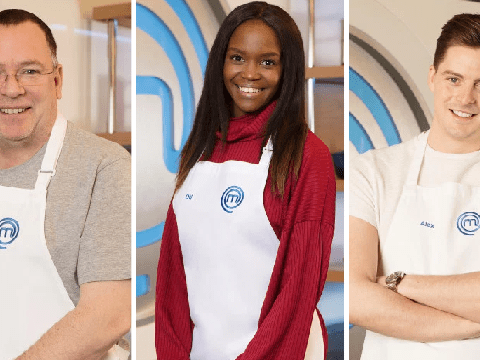 Adam Woodyatt, Oti Mabuse and Dr Alex George lead the Celebrity MasterChef 2019 line up