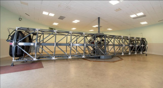 Iconic centrifuge machine from the Cold War is now open to public