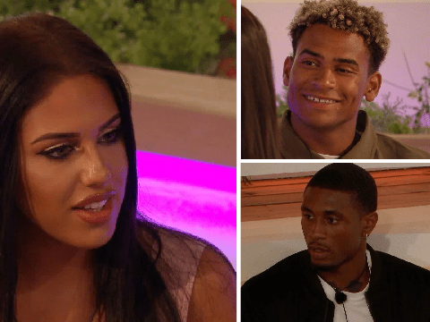 Love Island has a new love triangle as Anna is torn between Jordan and Ovie