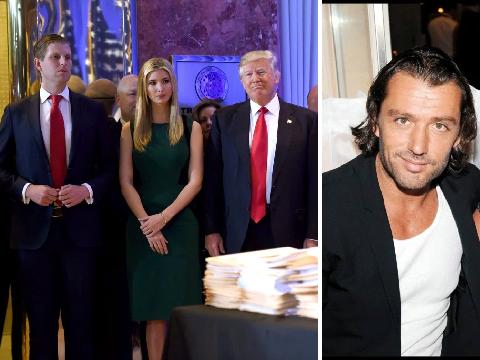 Ivana Trump's toyboy ex-husband calls children she had with Donald Trump 'scum'
