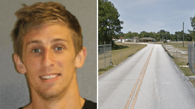 Jonathon Stokes reportedly shared clips of him having sex with his girlfriend online to get revenge on her for refusing to care for his dogs. He was booked into Volusia County Jail