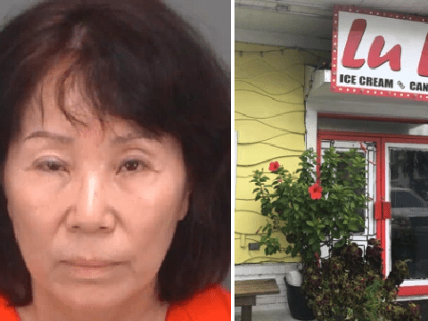 Woman 'peed and picked her nose into ice cream machine'
