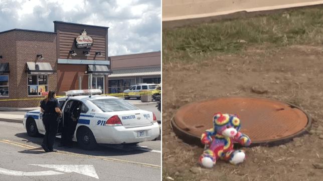 Toddler drowned in vat of old grease outside donut shop