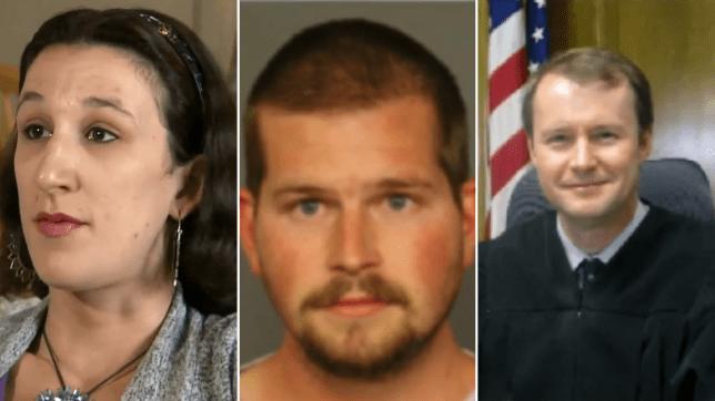 Maria Crow, Jared Bates, and Judge John Madden