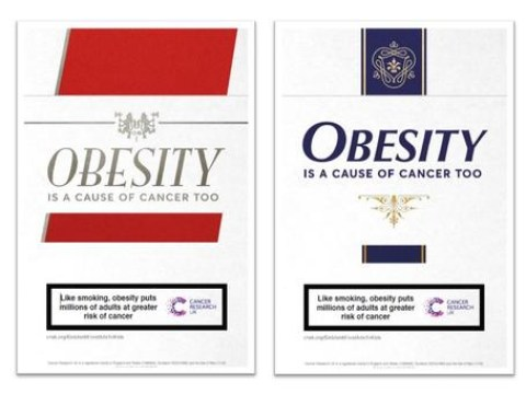 Warning that 'obesity is the new smoking' as it causes more cases of some cancers