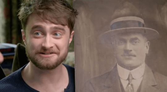 Daniel Radcliffe on Who Do You Think You Are?