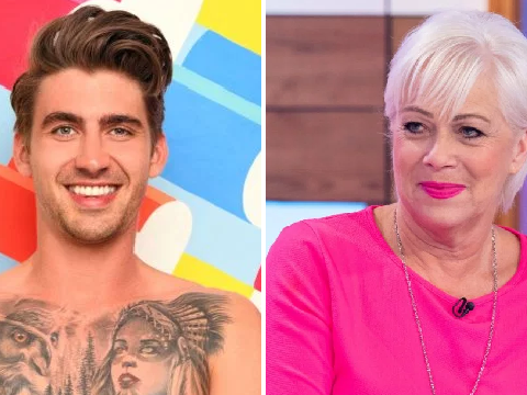 Love Island's Chris Taylor's claim to fame is dad's engagement to Denise Welch and we're kind of living for it