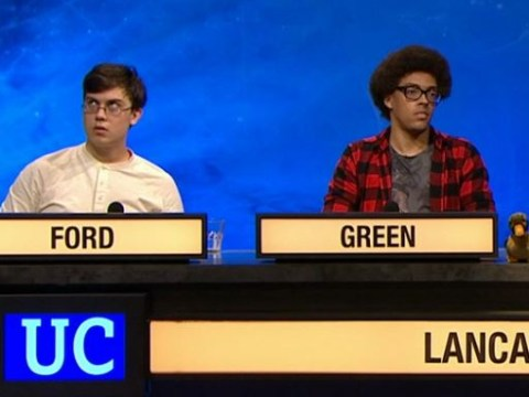 Frustrated University Challenge contestant 'swears' after crashing out