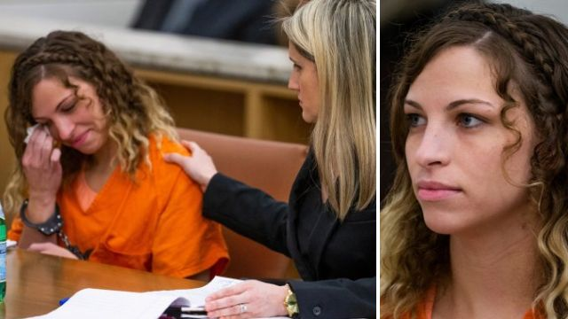 Brittany Zamora and her lawyer