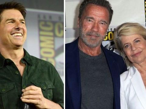 Tom Cruise delights Comic-Con crowd with Top Gun trailer as Arnold Schwarzenegger teases 'unbelievable' Terminator