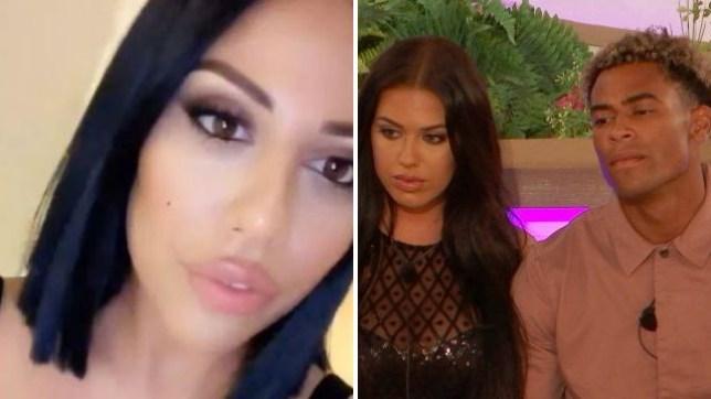 Love Island star Anna Vakili's sister apologises to Jordan Hames