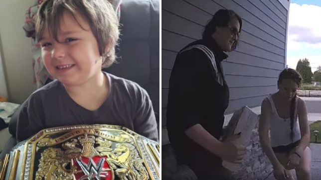 Sobbing porch pirates return package after discovering it was gift for gravely-ill child
