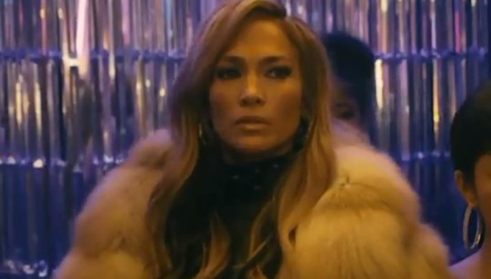 Jennifer Lopez in Hustlers trailer