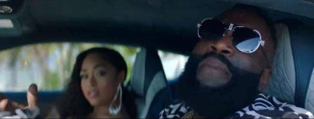 Jordyn Woods in Rick Ross' Big Tyme music video