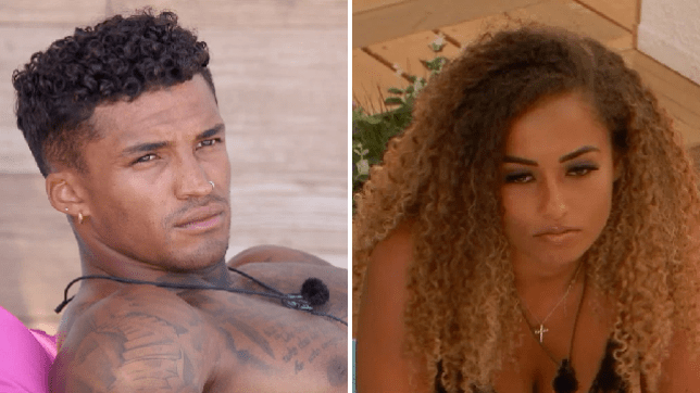 love island's michael griffiths and amber gill