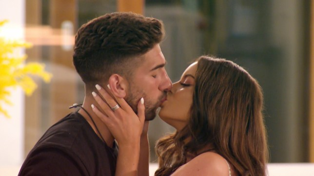 Maura and Marvin kiss on Love Island