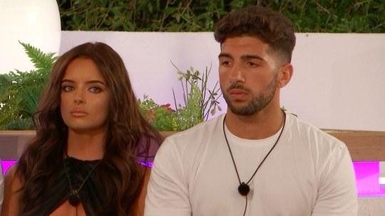 Love Island's Maura and Marvin