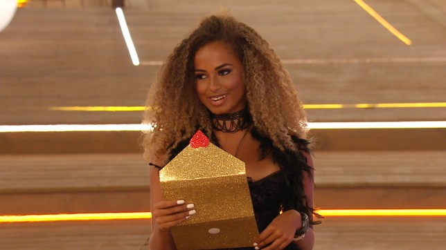 Amber Rose Gill on Love Island