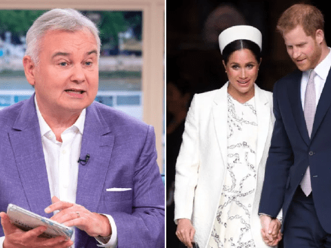 Eamonn Holmes in race row over calling Meghan Markle 'uppity'
