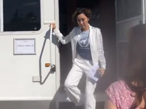 Michelle Yeoh flips the bird at Game of Thrones' Lena Headey in hilarious video and it's iconic