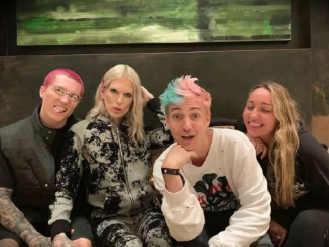 Jeffree Starr and Ninja enjoy an 'iconic' double date after YouTubers bond over Taco Bell