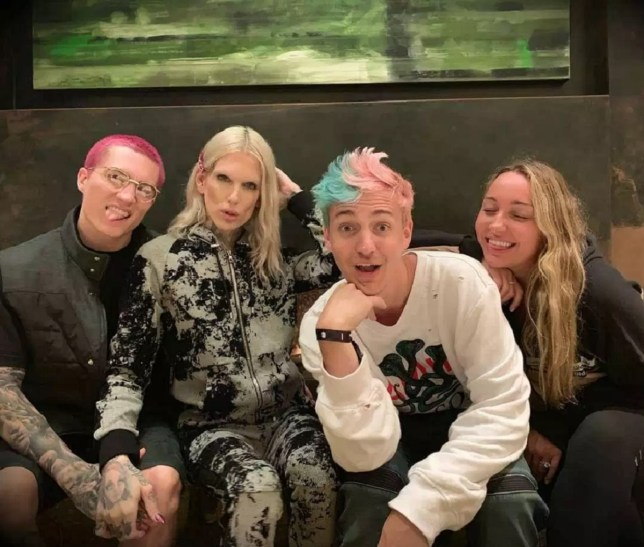 Jeffree Star and Ninja