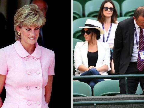 Princess Diana's ex-bodyguard blames Meghan's minder for photo ban at Wimbledon