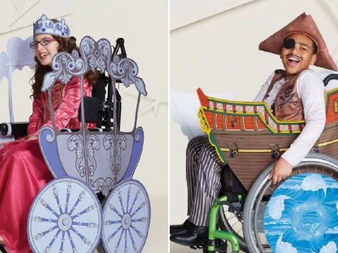 Target is now selling wheelchair-adaptive Halloween costumes for kids