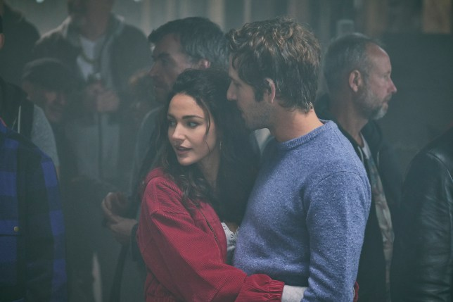 Michelle Keegan as Erin and Damien Molony as Dylan in Brassic