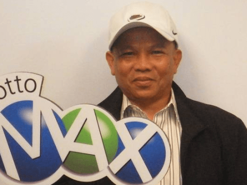 Man wins gigantic $60m lottery jackpot after faithfully playing same numbers for 20 years