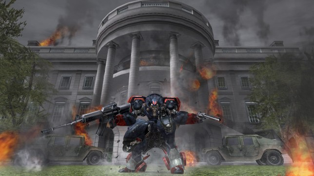 Metal Wolf Chaos XD (PS4) - you can't help but wonder what Trump would think of it