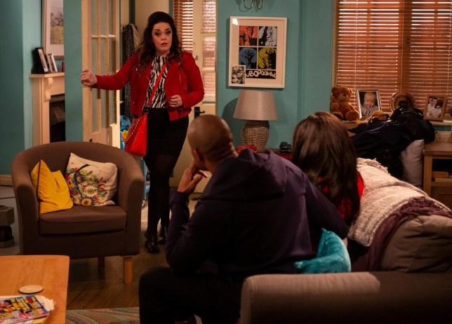 Mandy gets a shock in Emmerdale