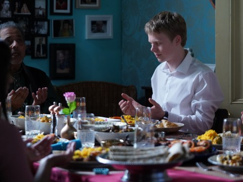 What is Eid as EastEnders' Bobby Beale attends Muslim celebration?