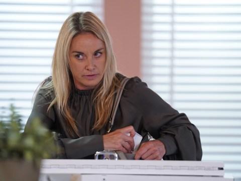 EastEnders spoilers: Tamzin Outhwaite films Mel Owen's sad exit scenes