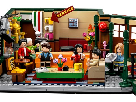 Lego Friends set revealed and it's going to (Central) Perk up your day