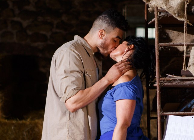 Moira gives in to her urges with Nate in Emmerdale