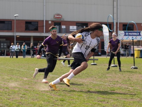 It wasn't a love of Harry Potter that drove me to join a Quidditch team