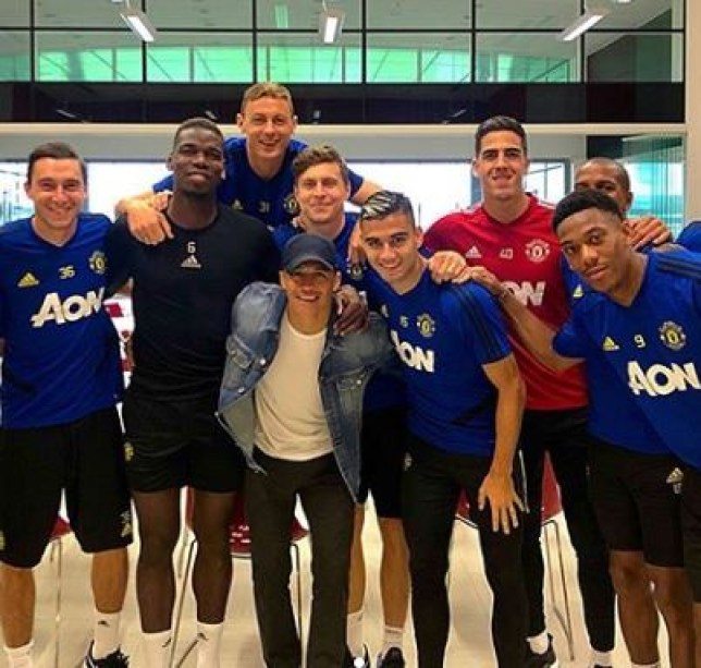 Alexis Sanchez has said his goodbyes at Manchester United