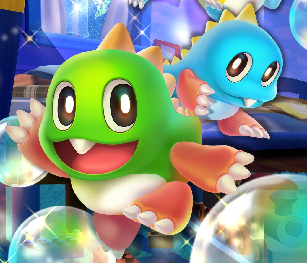 Bubble Bobble 4 Friends - during slightest they're removing work again
