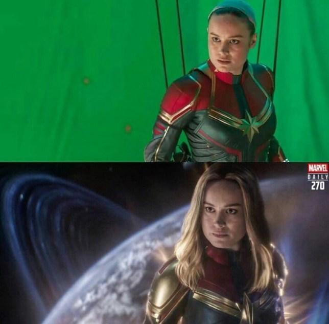 Captain Marvel in Avengers: Endgame