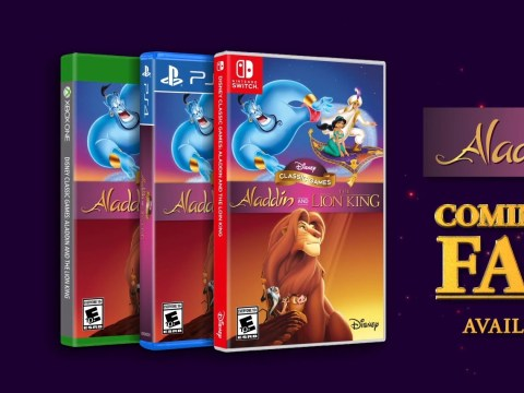Disney Classic Games: Aladdin and The Lion King remasters don't include the SNES version