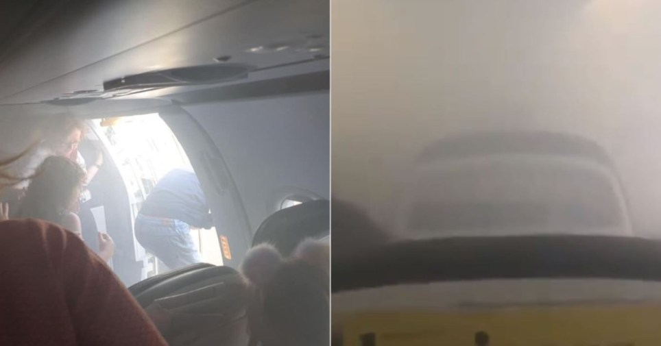 BA flight forced to evacuate after cabin suddenly fills with smoke