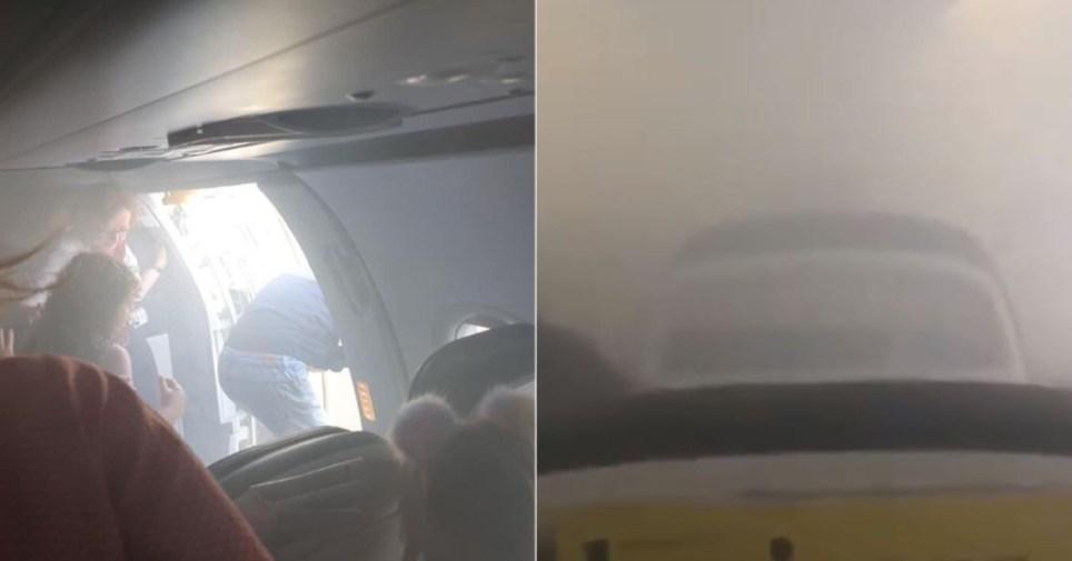 British Airways Heathrow to Valencia flight fills with smoke