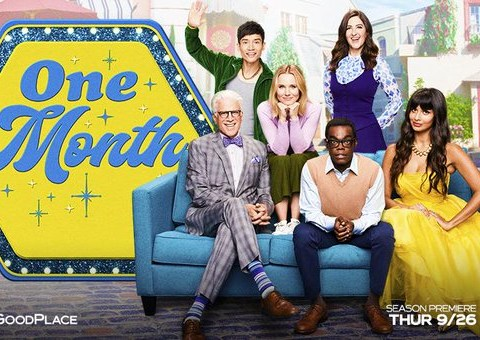 The Good Place cast prepare to say goodbye in new season 4 promo shots and we are not ready