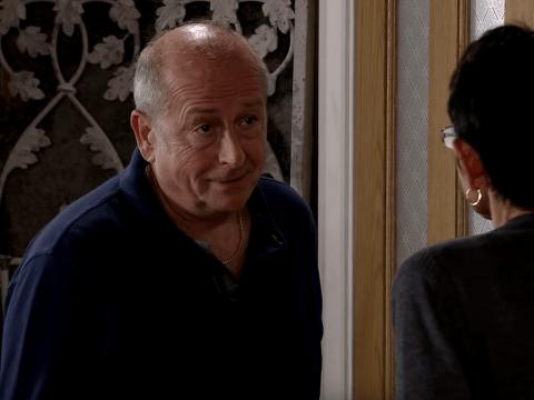Coronation Street spoilers: Geoff installs a hidden camera to spy on Yasmeen
