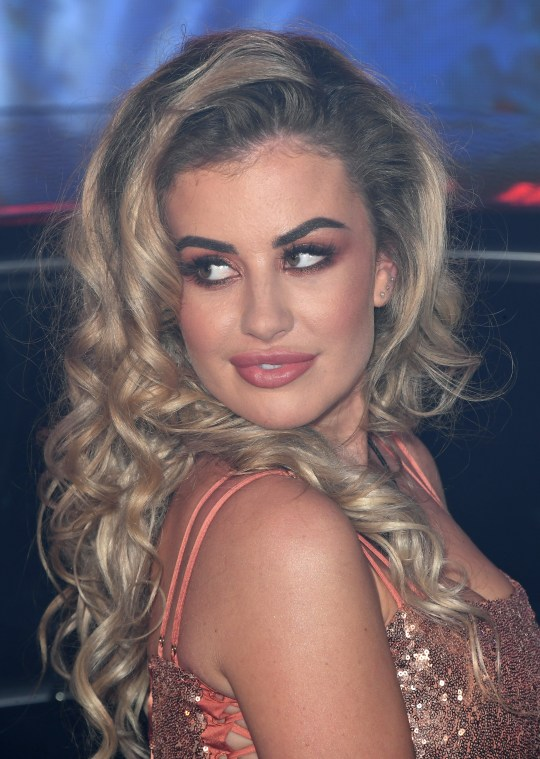Chloe Ayling waiting to go into the Big Brother house