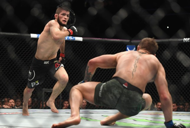 Khabib Nurmagomedov fights Conor McGregor